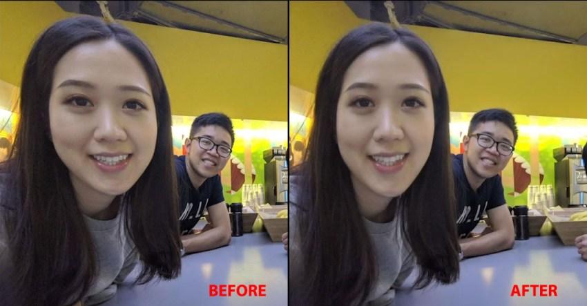 Google Anti-Distortion Wide Angle Selfies