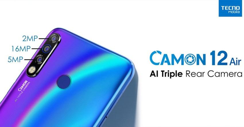 Camon 12 Air Triple-Rear-Camera