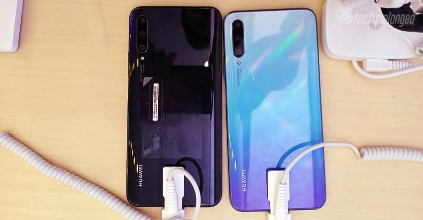 Huawei Y9s Color Variants