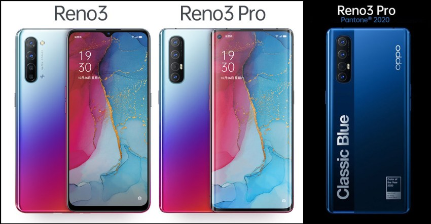 Reno3, Reno3 Pro, Reno3 Pro Pantone 2020