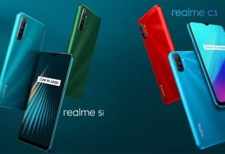 Realme 5i and Realme C3