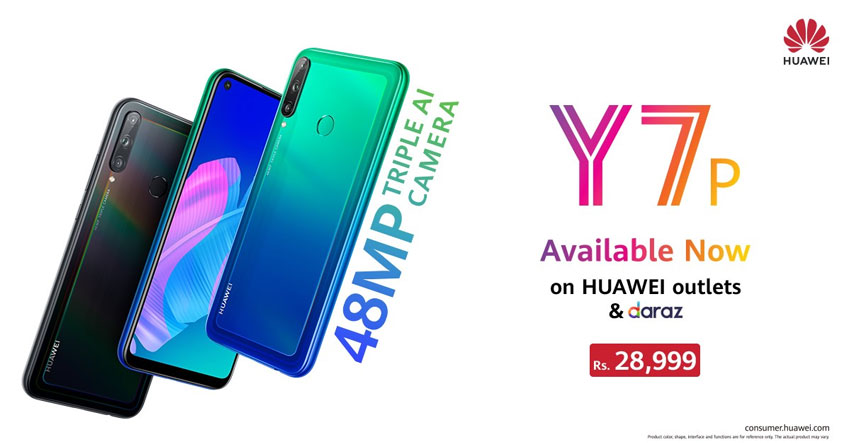 Huawei Y7p Price Pakistan