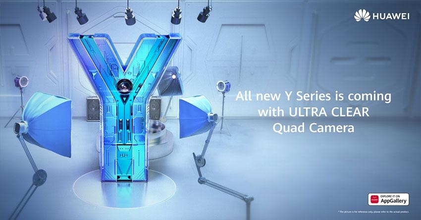 Huawei Y-series Quad Camera