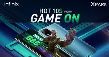 Infinix Hot 10S Price