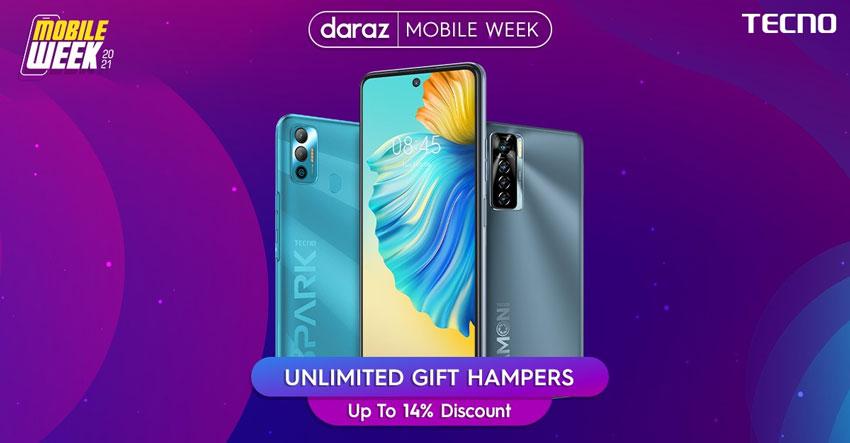 Tecno Daraz Mobile Week 2021