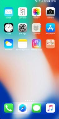 Screenshots of Launcher iOS 14 Download