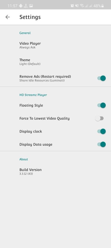 Screenshot of HD Stream IPL 2021 Android
