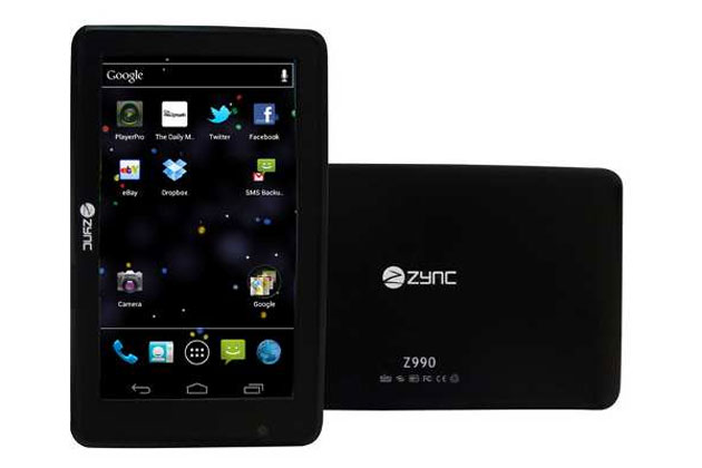 Zync launches India's cheapest Android Ice Cream Sandwich Tablet for Rs.8,990