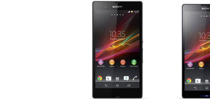 Photos leaked: Sony Xperia Z and ZL
