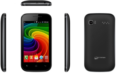 Micromax Bolt A35 launched at a price of Rs 4,250