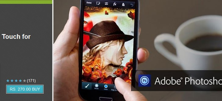 Adobe Photoshop Touch comes to Smartphones now available for $4.99