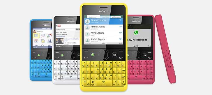 Nokia Asha 210 launched with dedicated WhatsApp key