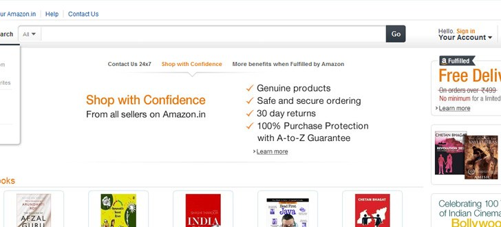 Amazon arrives in India, rolls out it's marketplace