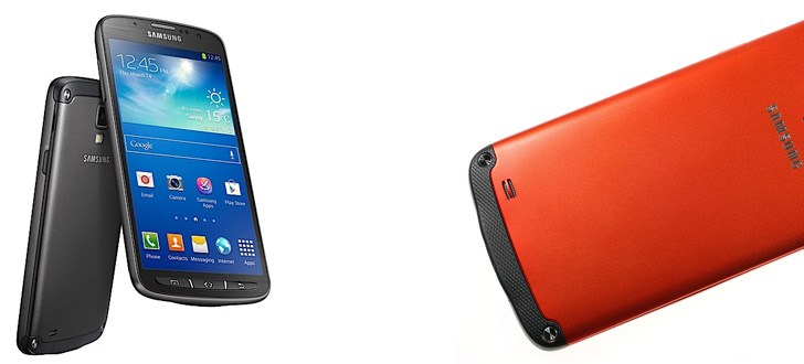 Samsung Galaxy S4 Active goes official; Rugged and water,dust resistant