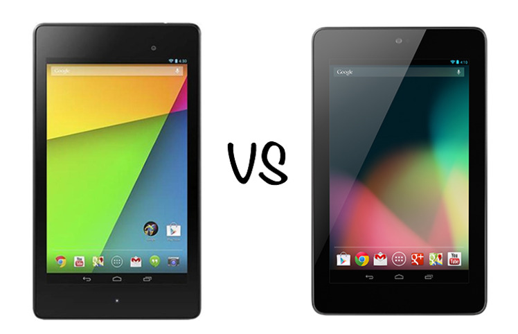 new nexus 7 vs old nexus 7