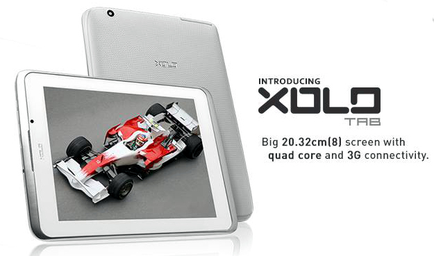 Xolo launches it's first tablet, the 8-inch Xolo Tab for Rs 13,499