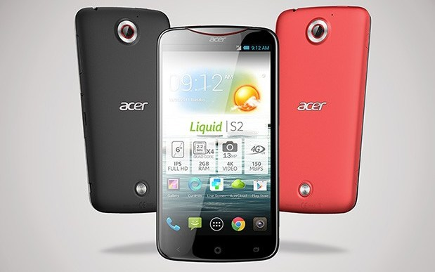 Acer Liquid S2 is the world's first 4K-recording smartphone