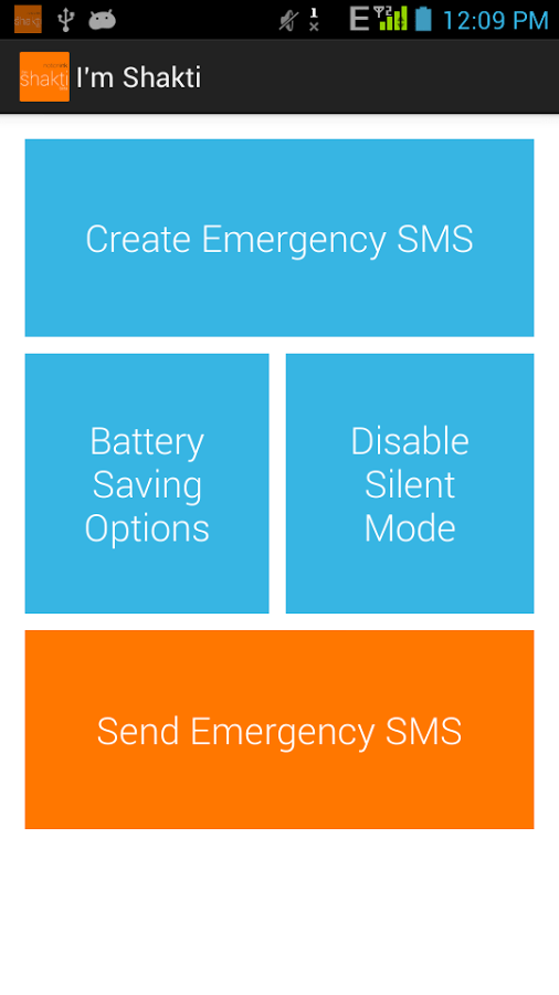 I'm Shakti is a safety app that might help you in emergency situations