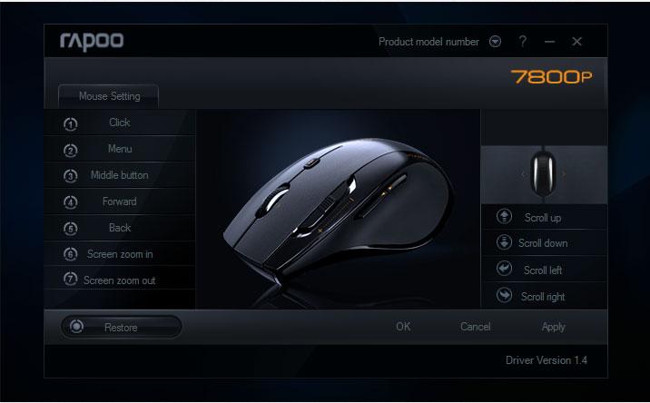 rapoo-7800p-mouse-setting