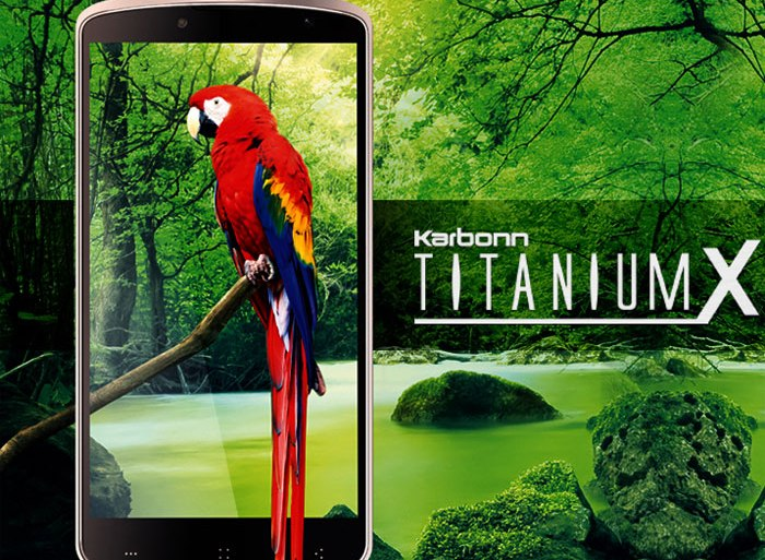 Karbonn Titanium X with 5-inch 1080p display launched for Rs 18,490