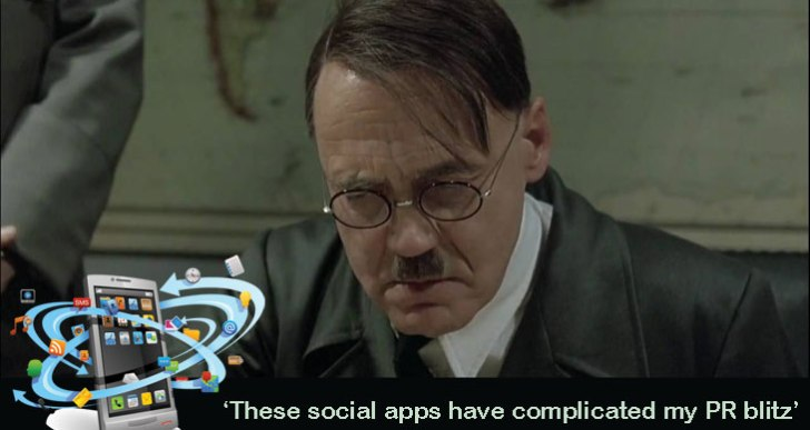 No more Goebbels: Yes We Can through Social Mobile apps