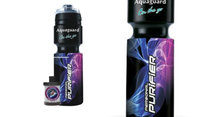 Eureka Forbes Aquaguard-on-the-Go launched, a mobile water purifier for Rs 595