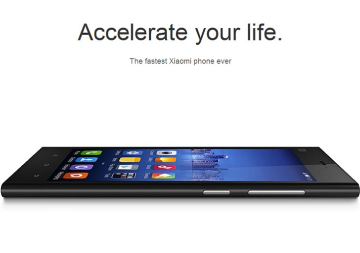 Xiaomi Mi3 launched in India at Rs 14,999, to be available from July 15