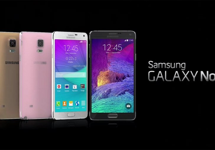 Samsung Galaxy Note 4 unveiled; Arriving next month