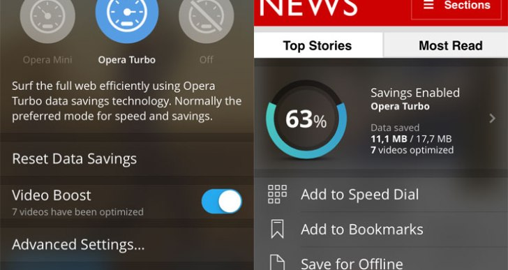 Opera Mini 9 launched for iOS, comes with 'Video Boost' feature