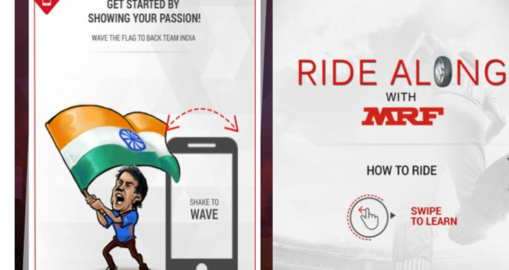 This World Cup, bleed blue with MRF's Ride Along – Cricket Fan App