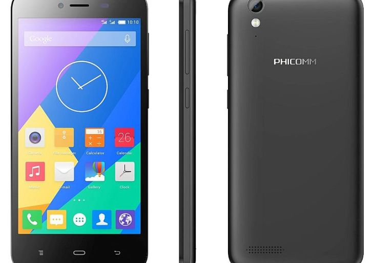 Phicomm Energy 653 is a LTE Smartphone priced at Rs 4,999