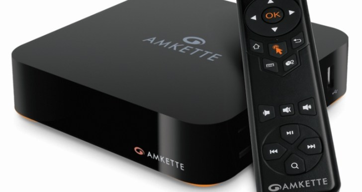 Amkette EvoTV 2 Android-based Media Streaming Box Launched at Rs. 6,999