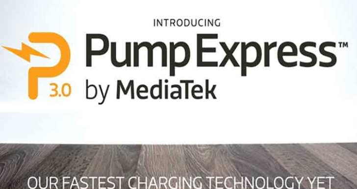MediaTek's Pump Express 3.0 charges a smartphone from 0 to 70 in 20 minutes