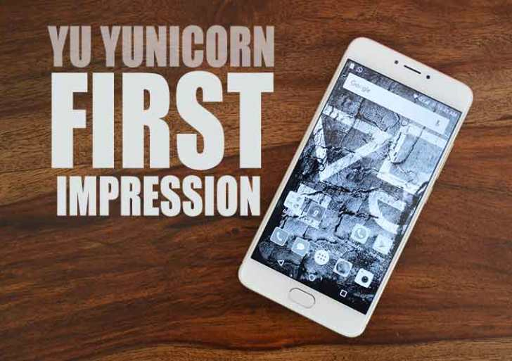 Yu Yunicorn First Impressions