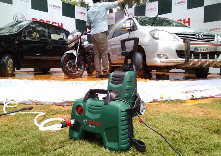 This Monsoon, the new Bosch Home and Car Washer Range should bring relief