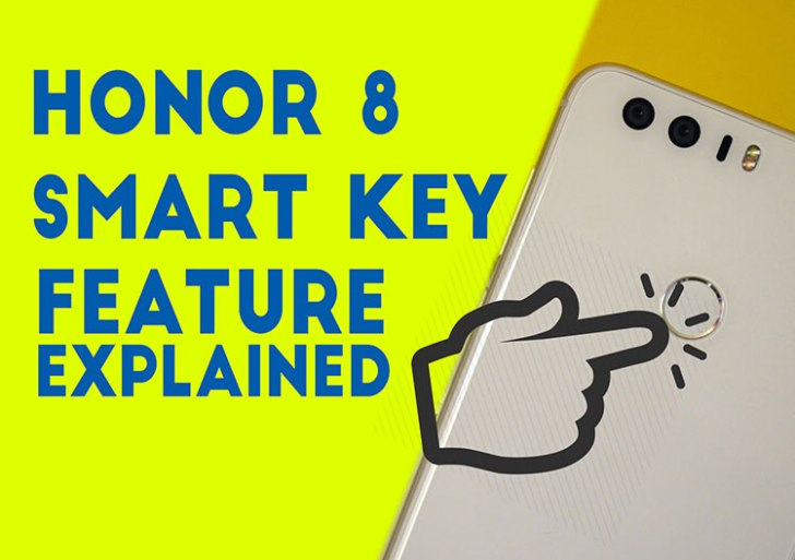 Honor 8 Smart Key : Adding an extra button