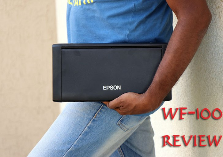 Epson WorkForce WF-100 Review : Portable and Wireless On the Go Printer