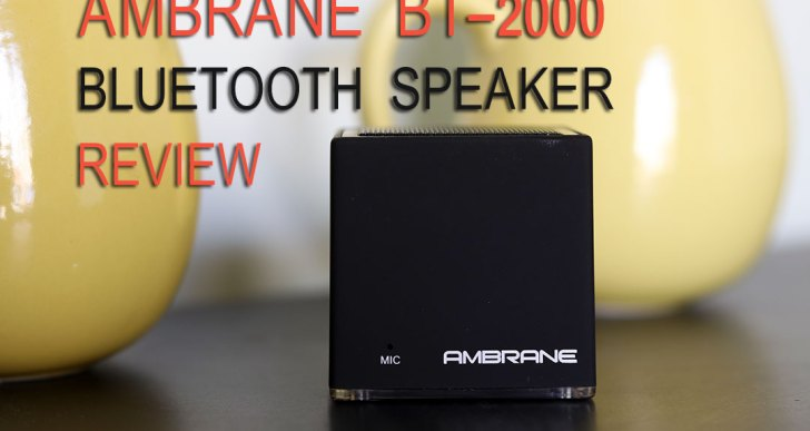 Ambrane BT-2000 Portable Bluetooth Speaker Review