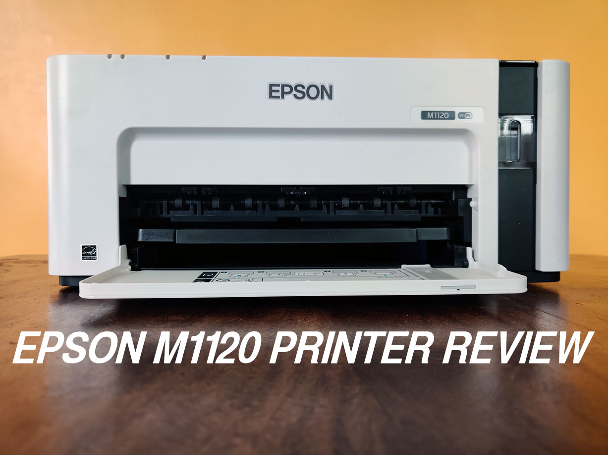 Epson M1120 EcoTank Monochrome Wi-Fi Ink Tank Printer Review | Tech Raman