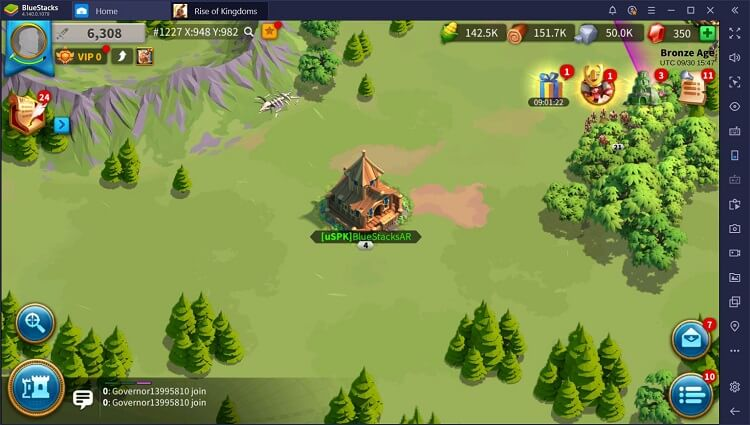 Rise of Kingdoms for PC with BlueStacks Macros_2