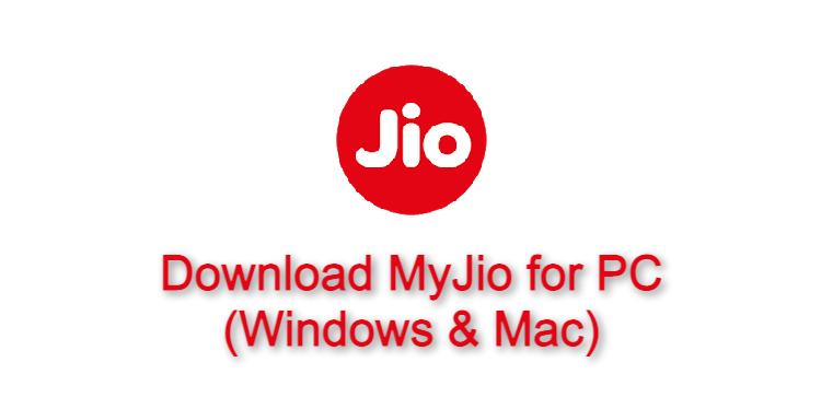 MyJio for PC