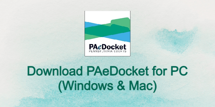 PAeDocket for PC