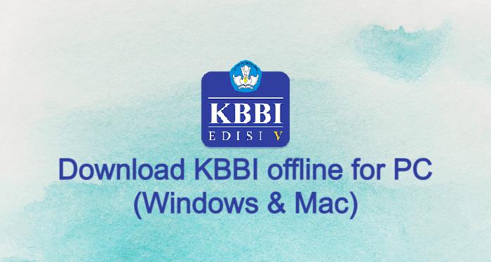 KBBI offline for PC