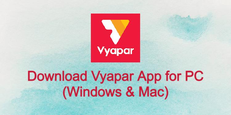 Vyapar App for PC