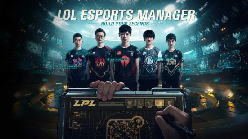 Manage the Rift in LoL Esports Manager