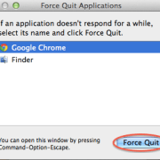 Force Quit from List