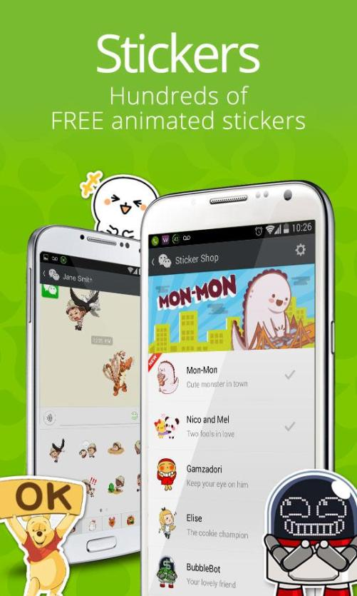WeChat Stickers