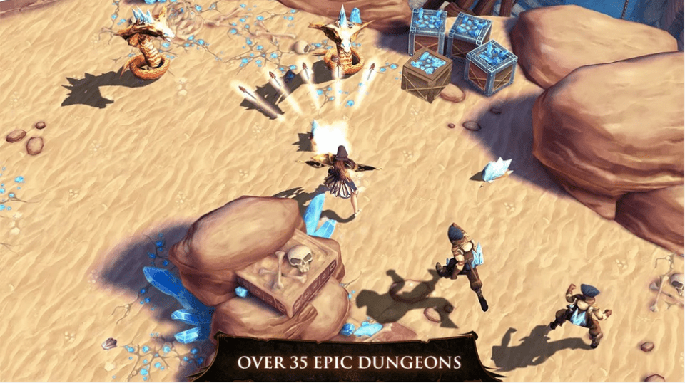 Dungeon Hunter 4 APK 2