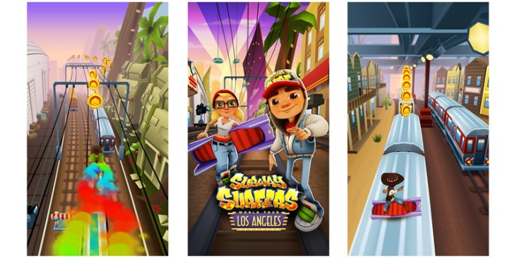 Subway Surfers Los Angeles APK Download for Android (Latest)
