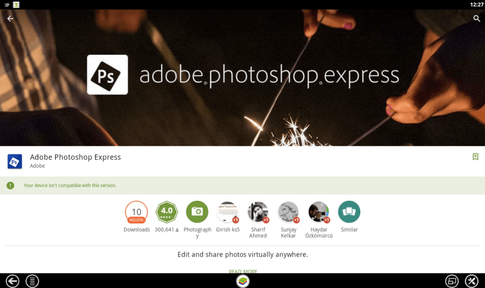 Adobe PhotoShop Express for PC 5